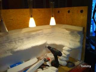 felsr ckwand selber bauen kleine anleitung. Black Bedroom Furniture Sets. Home Design Ideas
